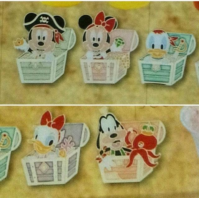 Tokyo DisneySea Game Pins