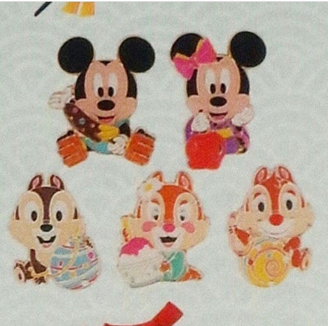 Tokyo Disneyland Summer Game Pins