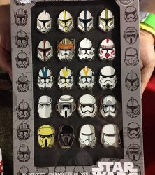 Star Wars Trooper Pin Set