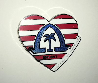 American Aulani Disney Pin