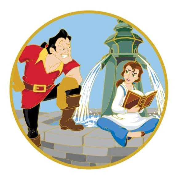 Beauty and the Beast ACME Pin - LE 300