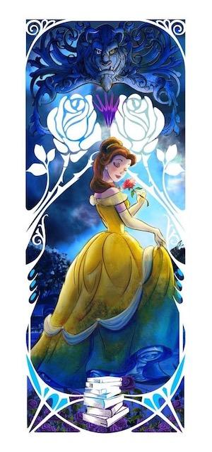 Belle Mucha Pin