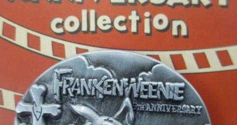 Cast Member Movie Anniversary Frankenweenie Pin