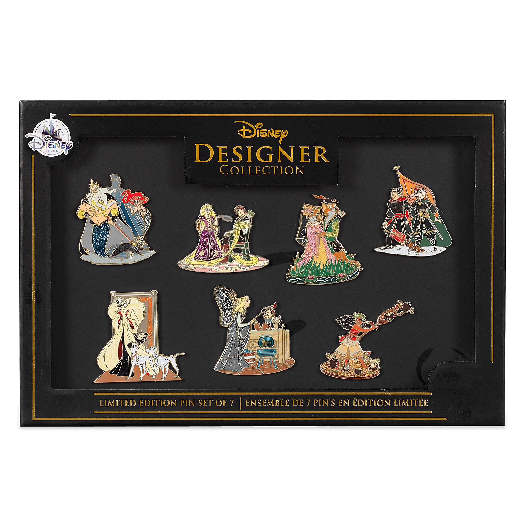 Disney Designer Collection Pin Set D23 Expo 2017 Disney Pins Blog