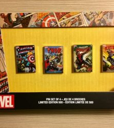 Disney Store Marvel Pin Set - D23 Expo 2017