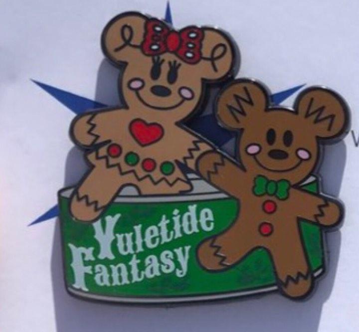 Disney's Yuletide Fantasy Tour Pin jpg