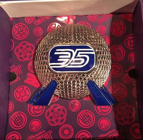 Epcot 35th Anniversary Jumbo Pin