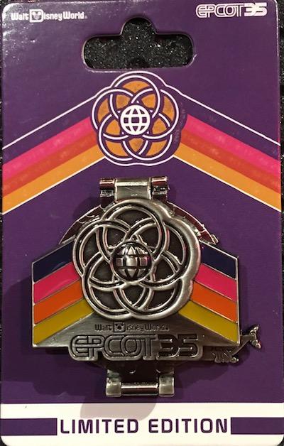Epcot Logos Pin