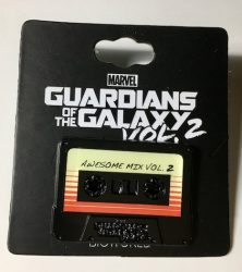 Guardians of the Galaxy Cassette Tape Pin