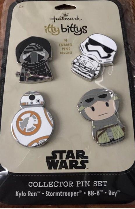 Star Wars Itty Bitty Pins - Hallmark