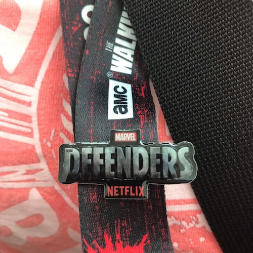 Marvel The Defenders Pin - SDCC 2017