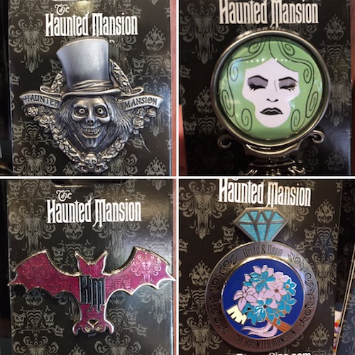 New Haunted Mansion Pins 2017