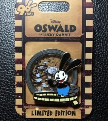 Oswald 90th Anniversary Pin - Box Lunches