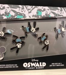 Oswald 90th Anniversary Pin Set - D23 Expo 2017