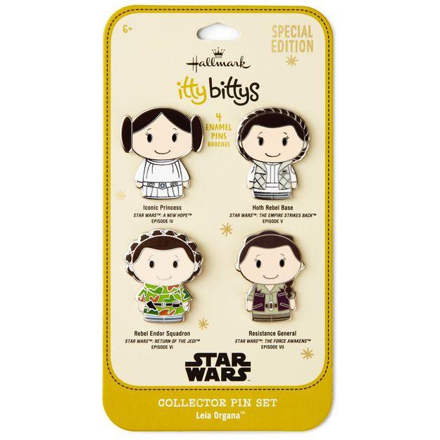 Princess Leia Itty Bitty Pins - Hallmark