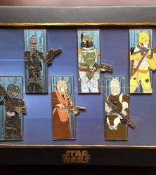 Star Wars Bounty Hunter Pin Set