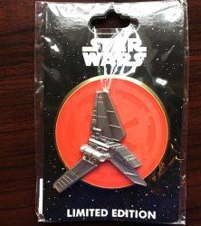 Star Wars Imperial Shuttle WDI Pin