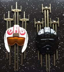 Star Wars Jumbo Helmet Pin Set