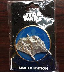 Star Wars Snowspeeder Fighter WDI Pin