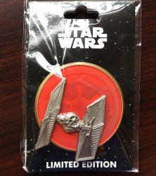 Star Wars Tie Fighter WDI Pin