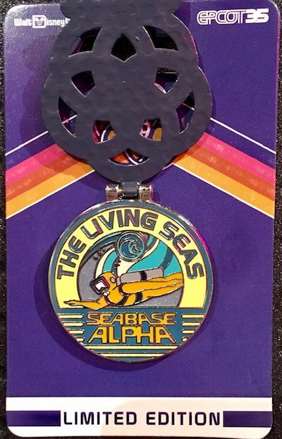The Living Seas Pin - Epcot 35th