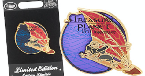 Treasure Planet Pin