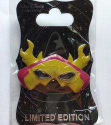 WDI Horned King Mask Pin