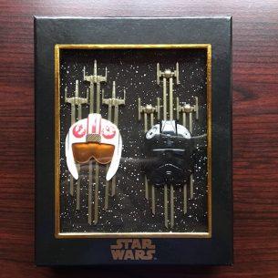 WDI Star Wars Jumbo Helmet Pin Set