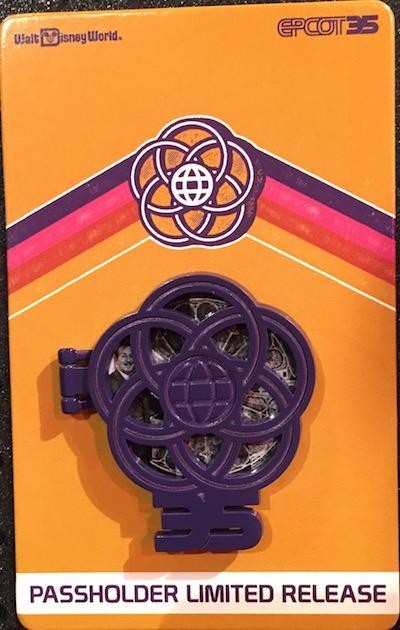 Walt Disney Annual Passholder Pin - Epcot 35th