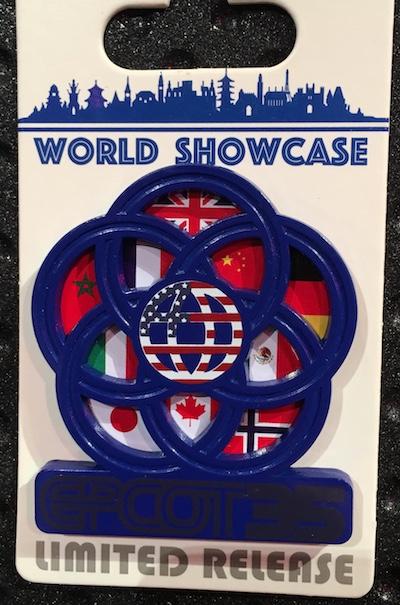 World Showcase Epcot 35th Pin