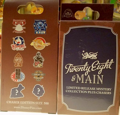 28 & Main Walt Disney World Mystery Pin Set