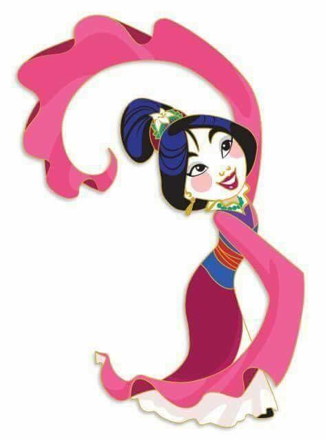 ACME Princess Dancing Series Pin - Mulan