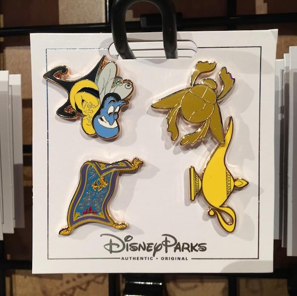 Aladdin Pin Set