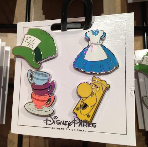 Allison in Wonderland Pin Set