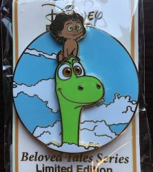Beloved Tales Good Dinosaur Pin