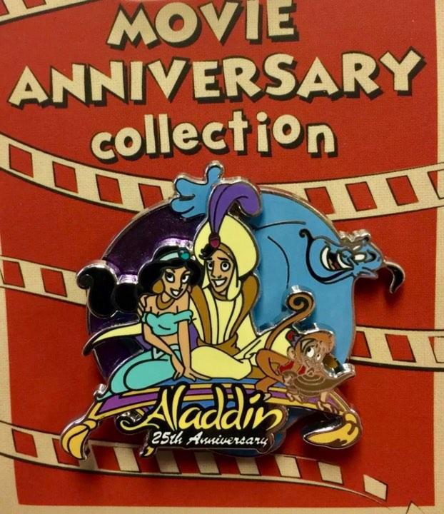 Cast Member Movie Anniversary Aladdin Pin