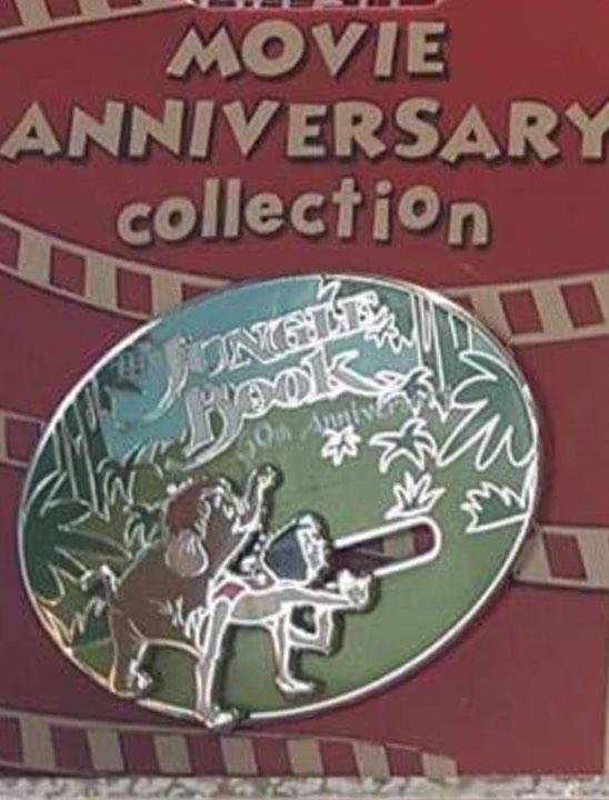Cast Member Movie Anniversary Jungle Book Pin