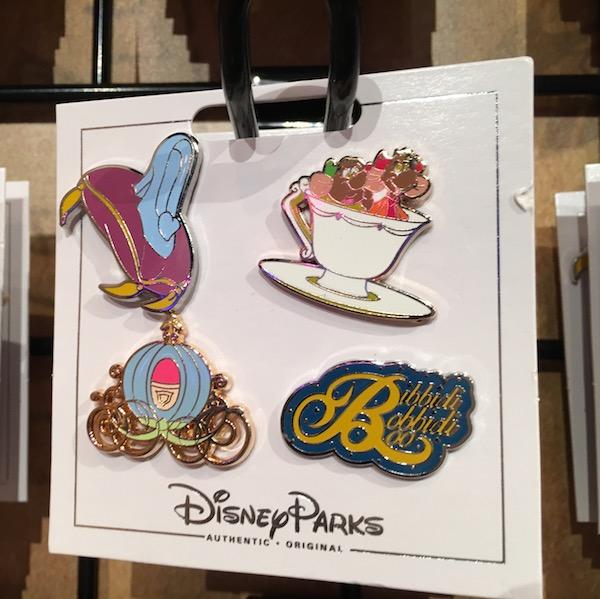 Cinderella Pin Set