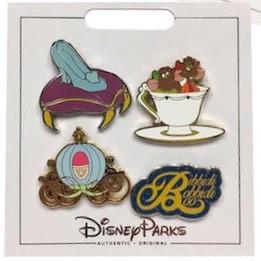 Cinderella Princess Pin Set