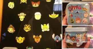Disney Emoji Mystery Pin Collection