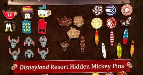 Disney Hidden Mickey Pins 2018