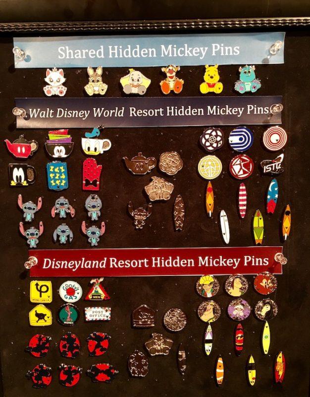 Disney Hidden Mickey Pins 2018