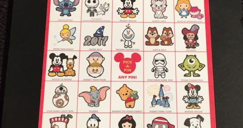 Disney PIN-GO – Game Card