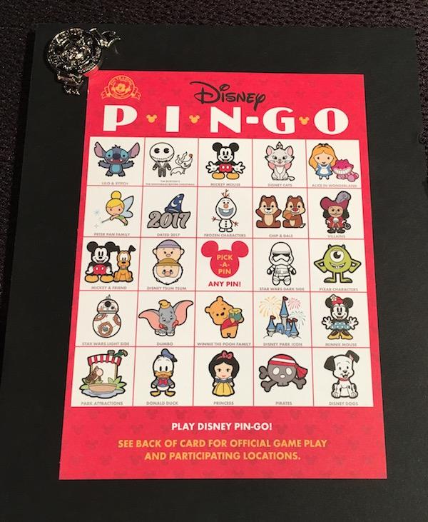 Disney PIN-GO – Game Card