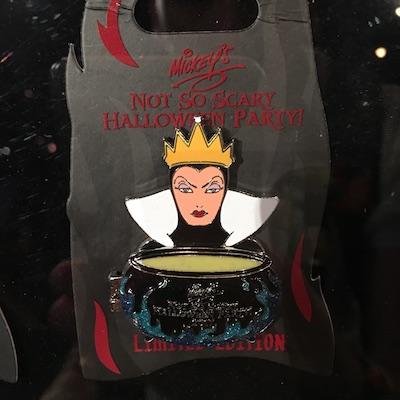 Evil Queen MNSSHP 2017 Pin
