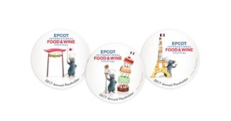 Food & Wine 2017 Buttons