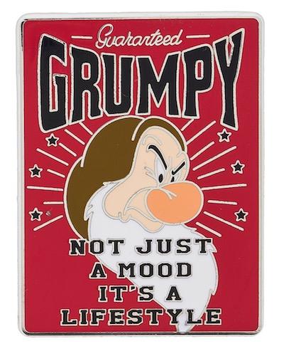 Grumpy Lifestyle Pin