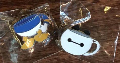 Hong Kong Disneyland Mug Pins
