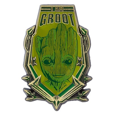 I Am Baby Groot Pin