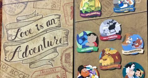 Love is an Adventure Mystery Pin Collection - Limited Release